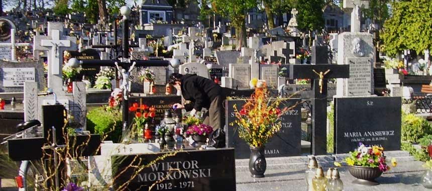 cmentarz parafialny konin